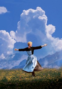 THE SOUND OF MUSIC, Julie Andrews, 1965. TM and Copyright © 20th Century Fox Film Corp. All rights r