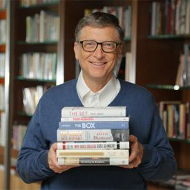 6 Books Bill Gates'll Recommend for you